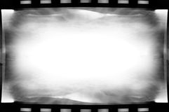 BW filmachtergrond Royalty-vrije Stock Foto's