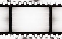 BW filmstrook Stock Afbeeldingen