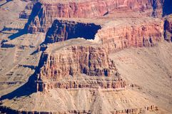 BW Grand Canyon Royalty Free Stock Images