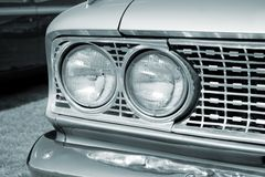 Bw headlight Royalty Free Stock Photography