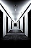 BW korytarz Zdjęcie Stock