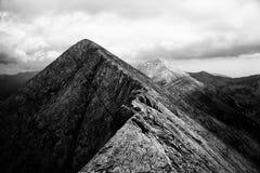Bw mountain Stock Photography