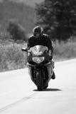 Bw rider Royalty Free Stock Photo