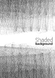 BW shaded background. Grayscale vector pattern Royalty Free Stock Photo