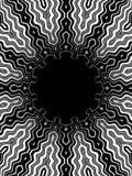 Bw van het patroon Stock Afbeeldingen