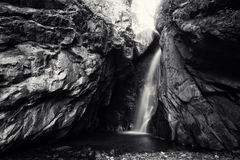 Bw waterfall Stock Images