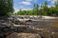 bwcaw падает pipestone Минесоты стоковое изображение