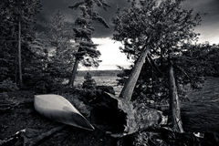 Bwcaw campsite Stock Photos