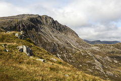 Bwlch y Tryfan and Bristly Ridge Royalty Free Stock Image
