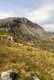 Bwlch y Tryfan and Bristly Ridge Stock Photo