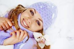 być na wakacjach zima Fotografia Stock