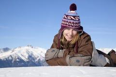 być na wakacjach zima obrazy royalty free