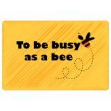 Być ruchliwie jako pszczoła Zdjęcie Royalty Free