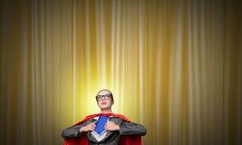 Być super kobieta wp8lywy siłą Obraz Royalty Free