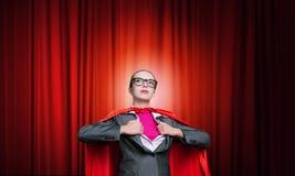 Być super kobieta wp8lywy siłą Zdjęcia Stock
