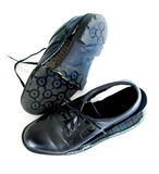 być ubranym buty być ubranym Fotografia Stock