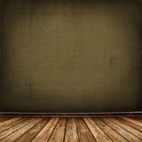 być ubranym pokój stara tapeta Fotografia Stock