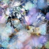 być zegarowego abstrakcyjne analogowy wielkiego cienia połowę ilustracyjnego kosmicznym czasem Obraz Royalty Free