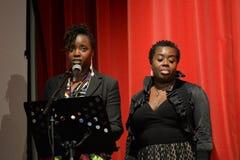 BYA награждает 2014 (достижения темнокожего молодого человека) в Лондоне стоковые фотографии rf