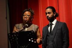 BYA награждает 2014 (достижения темнокожего молодого человека) в Лондоне стоковые изображения rf