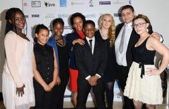 BYA Nagradza 2014 w Londyn (Czarnej młodości osiągnięcia) Obrazy Royalty Free
