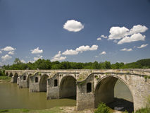 Byala-Brücke Lizenzfreie Stockfotos