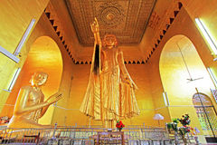 Byar Deik Paye Pagoda Standing Buddha, Mandalay, Myanmar Stock Images
