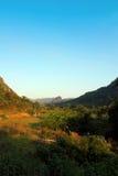 Byarna av nordliga Laos royaltyfri foto