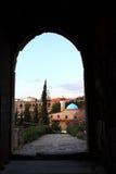 Byblos от замка крестоносца Стоковая Фотография