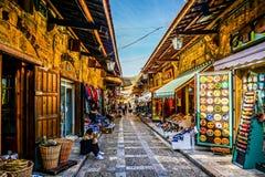 Byblos старое Souk 02 стоковая фотография