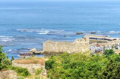 Byblos ancient port, Lebanon Royalty Free Stock Images