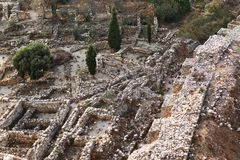 Byblos Archeological site royalty free stock photography