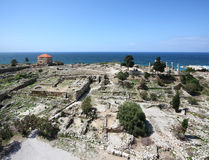 Byblos Archeological Site, Lebanon Royalty Free Stock Image