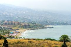 Byblos beach, Lebanon Royalty Free Stock Image