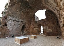 Byblos Crusader Castle Royalty Free Stock Image