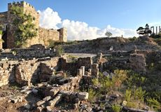 Byblos Crusader Castle, Lebanon Stock Image