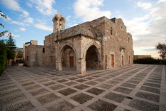 Byblos Crusader St John Church Stock Photography