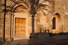 Byblos Crusader St John Church Stock Photo