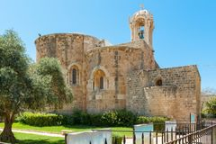 Byblos is een Mediterrane stad in het Onderstel Libanon stock foto's