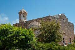 Byblos ist eine Mittelmeerstadt im Berg der Libanon Stockfoto