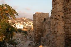 Byblos (jbeil) in Beiroet. Royalty-vrije Stock Foto's