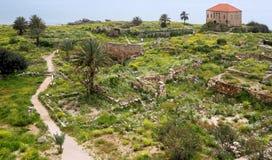 Byblos (Jbeil), Libanon Royalty-vrije Stock Afbeeldingen