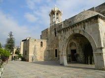 Byblos Kościół Zdjęcia Stock