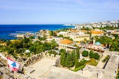 Byblos korsfararecitadell 16 royaltyfri bild