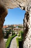 byblos lebanon Arkivbild