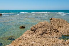 Byblos is a Mediterranean city in the Mount Lebanon royalty free stock photography