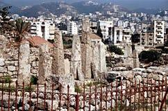Byblos obeliski obraz royalty free