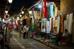 Byblos Old Market Royalty Free Stock Photos