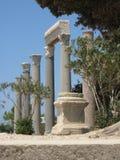 Byblos, Oude ruïnes Stock Fotografie
