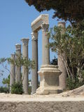 Byblos, ruines antiques Photographie stock